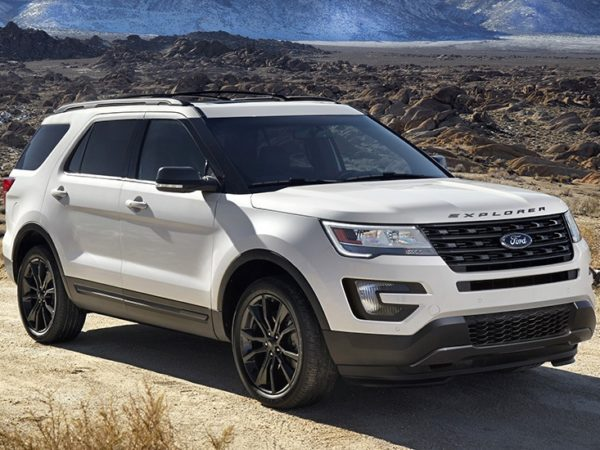 2017 Ford Explorer XLT Sport (U502) - top car design rating and specifications