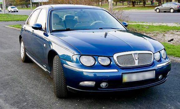 Седан Rover 75 (Ровер 75) 2000 года.